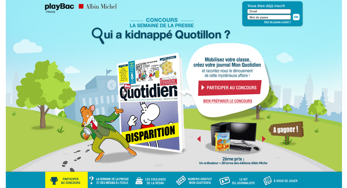 Qui a kidnappé Quotillon ?